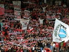 El En Avant de Guingamp tendrá un himno harto peculiar para despedir la temporada en casa. AFP