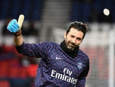 El Parma, una romántica retirada para Buffon. AFP