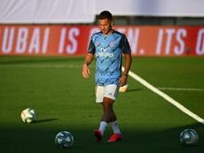 Eden Hazard treinou com o grupo do Real Madrid. AFP