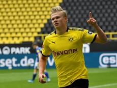 Haaland forfait contre Paderborn. AFP
