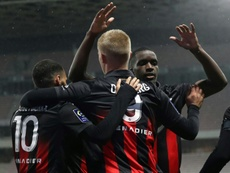 Les compos probables du match de Ligue Europa entre Nice et Beer Sheva. afp