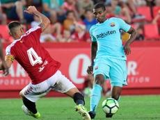 Marlon dejó el Barcelona en verano. AFP