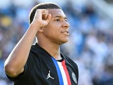 Tuchel cuenta con Mbappé para el Atalanta. AFP