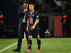 Problems continue for Verratti. AFP