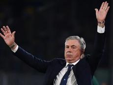 Ancelotti aseguró que quiso fichar a James para el Nápoles. AFP