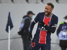 Neymar, un retour en fanfare. AFP