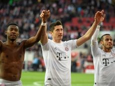 Bayern want to keep Alaba and Thiago. AFP