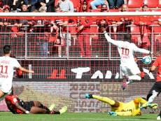 Ikoné satisfait du match nul de Lille contre Rennes. AFP