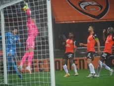 Balerdi ahoga las penas de la Champions. AFP