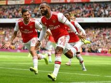 El Arsenal ya le habría buscado un reemplazo a Lacazette porque le ve en el Metropolitano. AFP