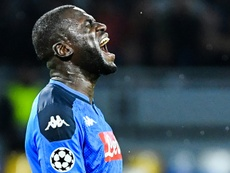 Koulibaly may miss the match. AFP