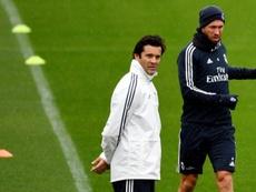 Ramos est la main droite de Solari. AFP