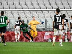 Le formazioni ufficiali di Hellas Verona-Atalanta. AFP