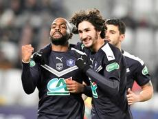 Proche des 100 buts , 'Papi Jimmy' résiste au temps à Bordeaux. AFP