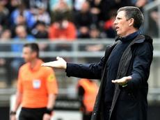Les compos officielles du match de Ligue 1 entre Dijon et Strasbourg. AFP