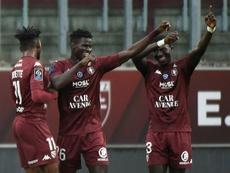 Metz enfonce un peu plus le FC Nantes. AFP