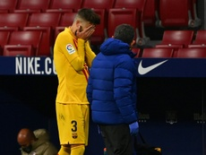 Pique will likely be out for months. AFP