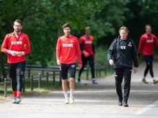 El Köln se enfrenta al Mainz 05. AFP