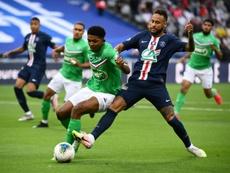 La Copa estaba en peligro de suspensión. AFP