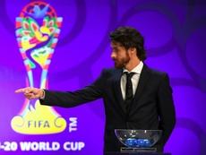 Francescoli, Zidane y el paralelismo de Aimar sobre ser el ídolo de Messi. AFP