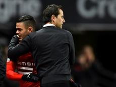 Hatem Ben Arfa no reforzará al Nantes. AFP