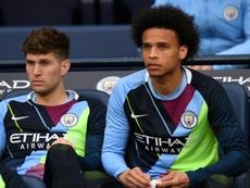 Sané quer renovar com o Manchester City e dá nega ao Bayern. AFP