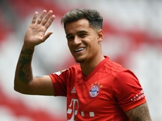 Pochettino is interested in bringing Philippe Coutinho to Tottenham. AFP