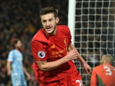 Lallana could sign a new contract. AFP