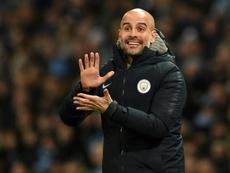Pep Guardiola, treinador do Manchester City. EFE