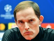 Tuchel cree que el Olympique de Lyon puede ganar al Barcelona. AFP