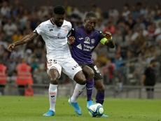 Les compos probables du match de Ligue 1 entre Dijon et Toulouse. AFP