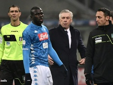 Kalidou Koulibaly tem clubes ingleses interessados. AFP