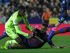 Levante were unlucky not to carry a larger lead into the second leg. EFE