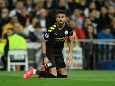 Mahrez explique ses débuts compliqués à Manchester City. AFP