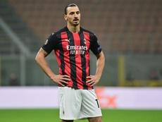Ibrahimovic también estuvo a punto de retirarse en verano. AFP