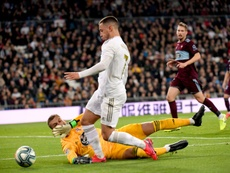 Os dados demonstram que Hazard voltou com tudo. AFP