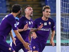Ribéry rassure sur son attachement à la Fiorentina. AFP