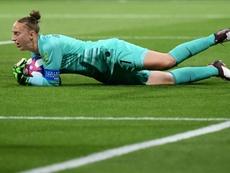 Goleira do Atlético é eleita a melhor goleira de 2019. AFP