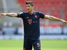 Lewandowski is after the Champions League. AFP
