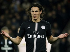 PSG with no offers for Cavani. AFP
