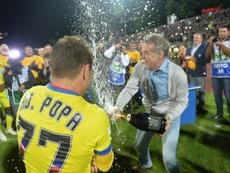 Florinel Coman fue uno de los jugadores más señalados por el presidente del Steaua. AFP