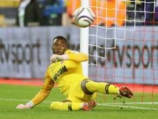 El Cercle Brugge, a punto de firmar a Badiashile . AFP