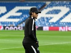 El Madrid espera que Neymar copie a Mbappé. AFP