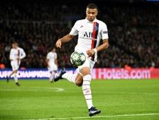 L'attaccante francese del PSG Mbappé.