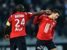 Eden Hazard comenzó a explotar en el Lille. AFP