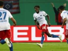 El futbolista estaba siendo investigado en Alemania. AFP