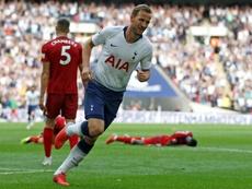 Kane wants a trophy. AFP