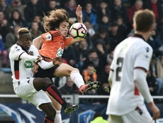 Guendouzi is a target for Arsenal. AFP