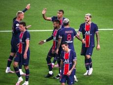 Neymar puso la magia e Icardi, los goles. AFP