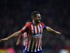 Koke es el termómetro del Atlético. AFP
